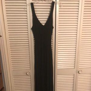 Black NY & Co Maxi Dress, Size M